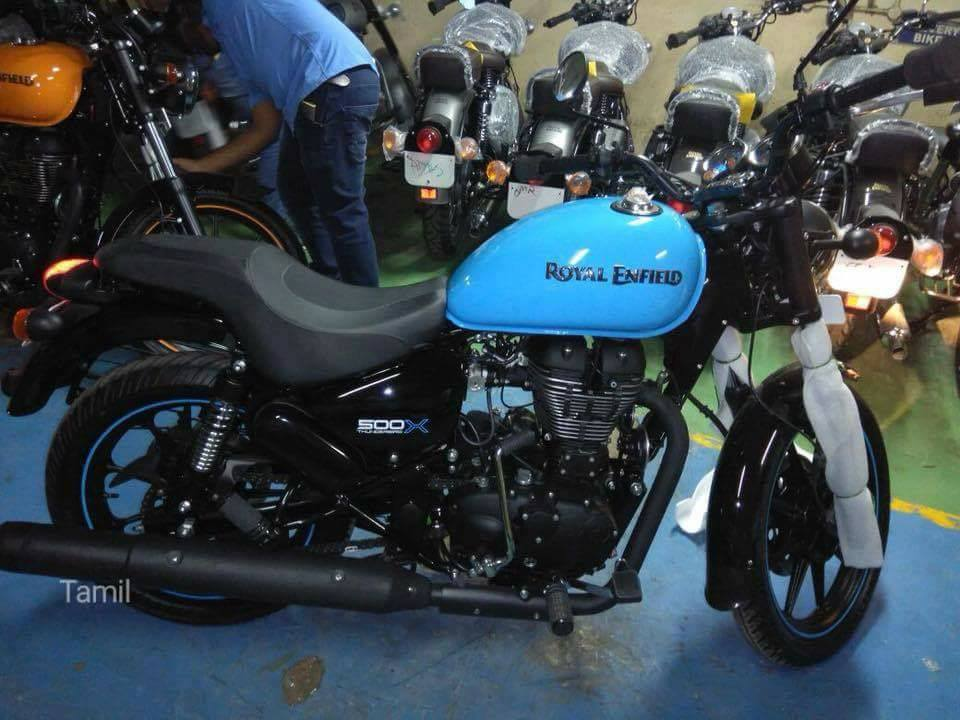 New Launch of Royal Enfield Thunderbird 500X
