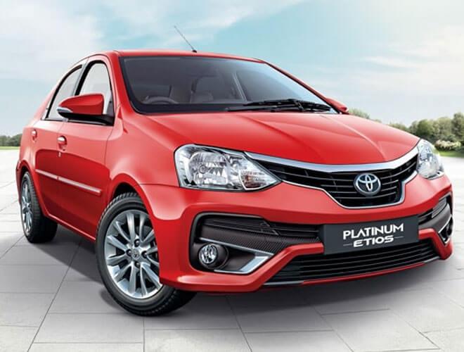 The New Toyota Platinum Etios