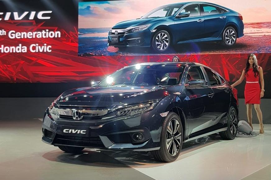 Honda Civic At 2018 Auto Expo