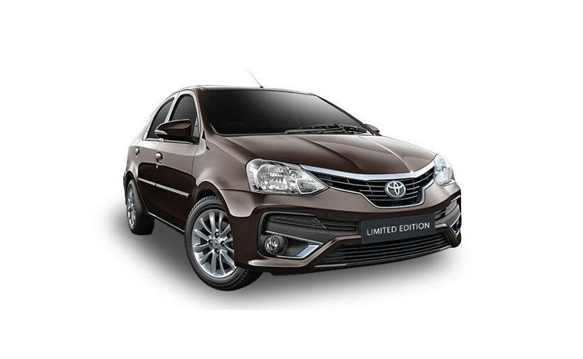 Toyota Etios Platinum Limited Launched