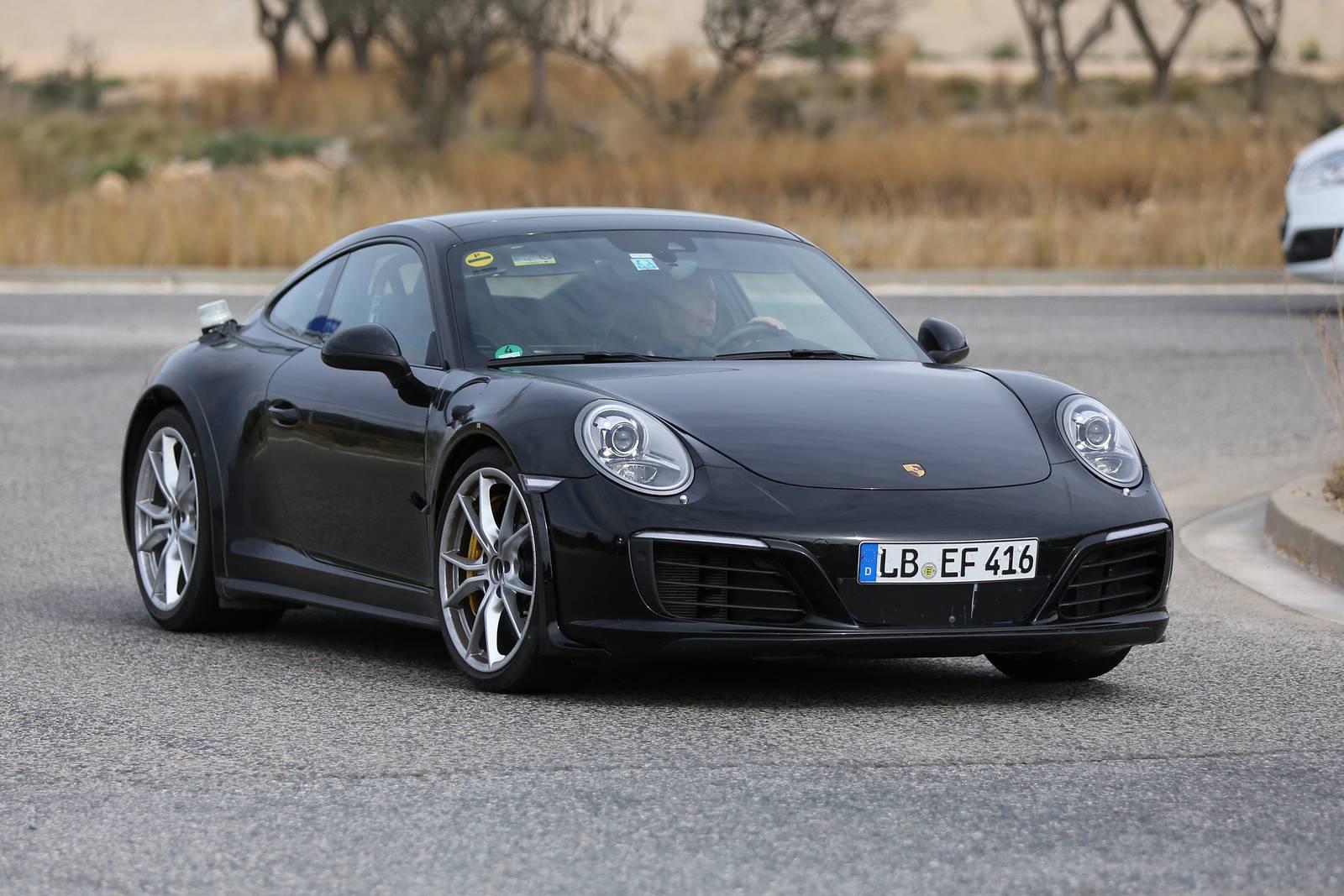 Next-generation Porsche 911