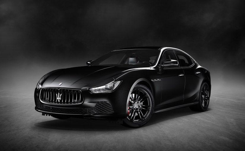 Maserati Ghibli Nerissimo Edition at Geneva