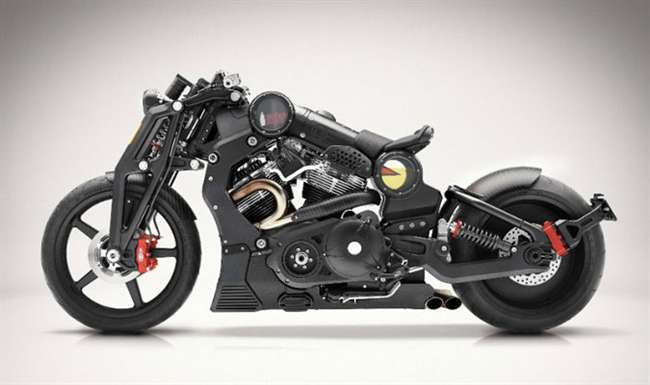 Last V-Twin Model Of Curtiss Motorcycles Unveiled
