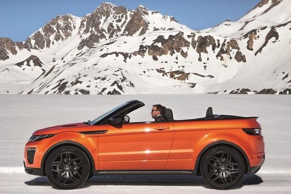 Range Rover Evoque Convertible Now in India