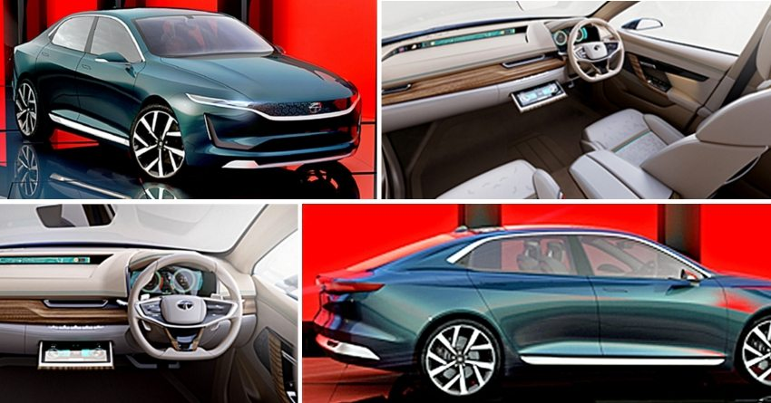 Tata E-Vision At Geneva Motor Show 2018