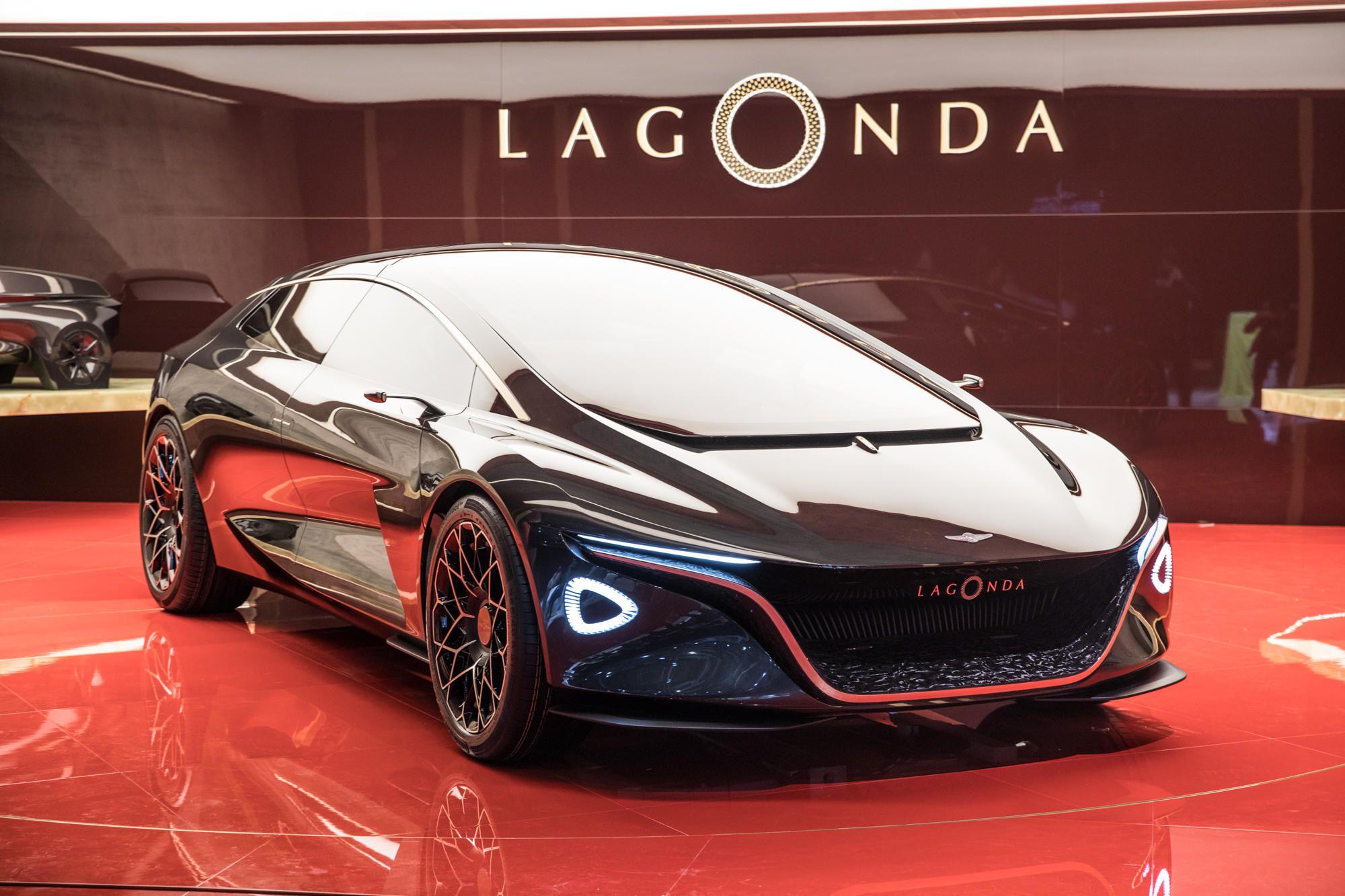 Aston Martin Lagonda At Geneva Motor Show 2018