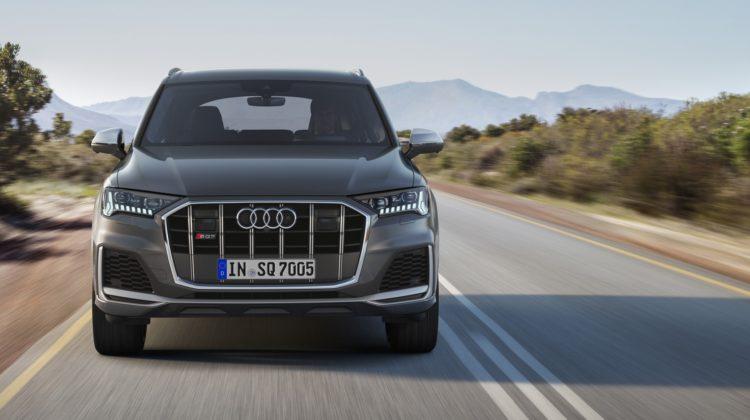 Audi SQ7 Facelift Unveiled Beside 435hp V8 Diesel motor