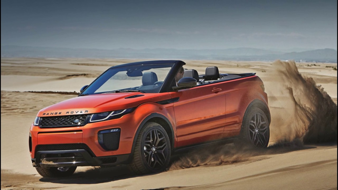 Range Rover Evoque Convertible Launching On March 27