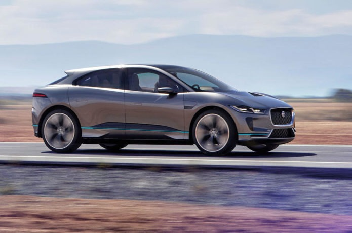 First Electric SUV I-Pace By Jaguar